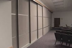 Commerical Sliding Room Dividers